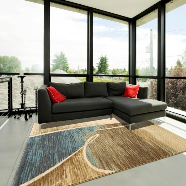 Tapis design contemporain chez maison lire - Tapis de salon chez but ...