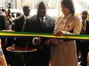 Gabon inauguration siège Commission bancaire l'Afrique centrale