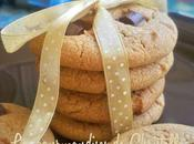 cookies beurre cacahuète carrés chocolat d'Emerky