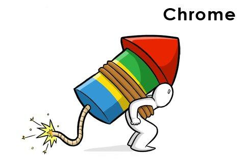 caricature chrome Bien choisir son Navigateur Internet