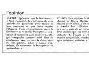"""""""L'opinion"""" dans L'évènement mars"""