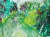 Ansereuilles Aquarelle peinte motif