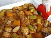 Champignons légumes grecque