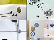 stickers pour salle bains