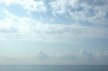 entre ciel et mer