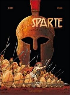 Album BD : Sparte de Christophe Simon et Patrick Weber