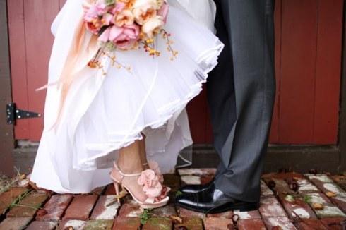 inspiration mariage chaussures - Chaussure Fushia Mariage