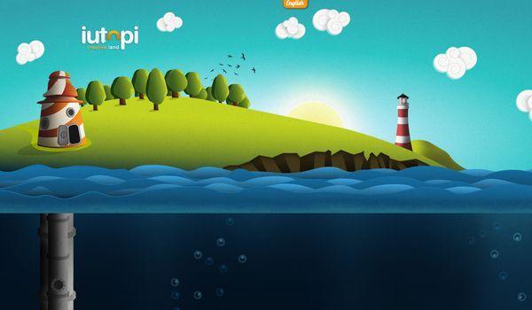 Iutopi - site avec illustration