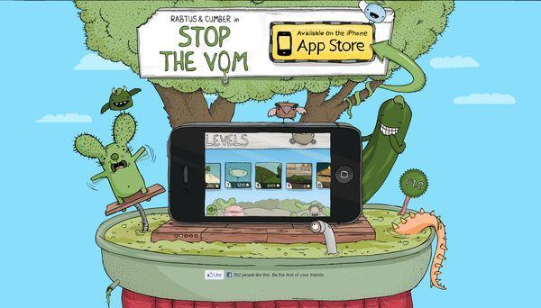stopthevom - site avec illustration