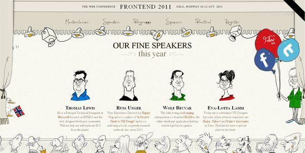 frontend2011 - site avec illustration