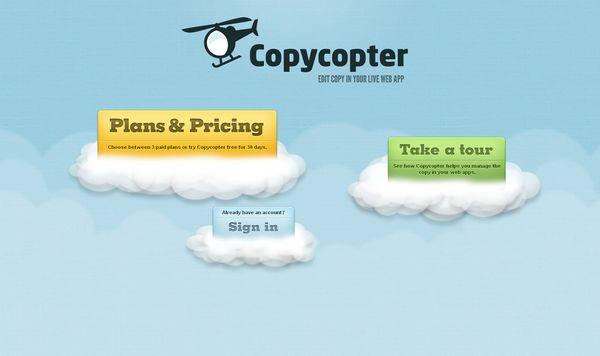 copycopter - site avec illustration