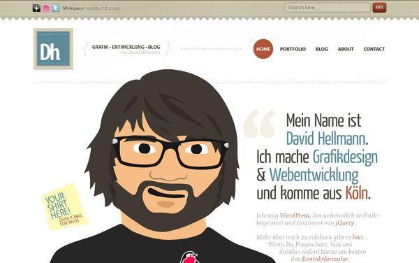 davidhellmann - site avec illustration
