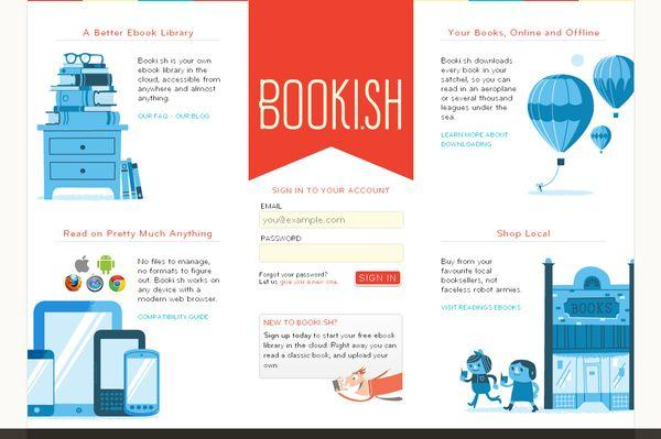 booki - site avec illustration