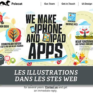 illustration site web