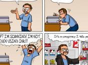 syacartoonist Bande dessinée chaque jour