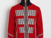 Alexander mcqueen military jacquard knit