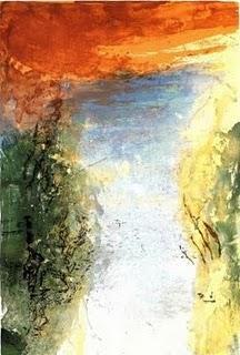 J'arrive où je suis étranger,  Louis Aragon,  peintures de Zao Wou-Ki,  dimanche poétique