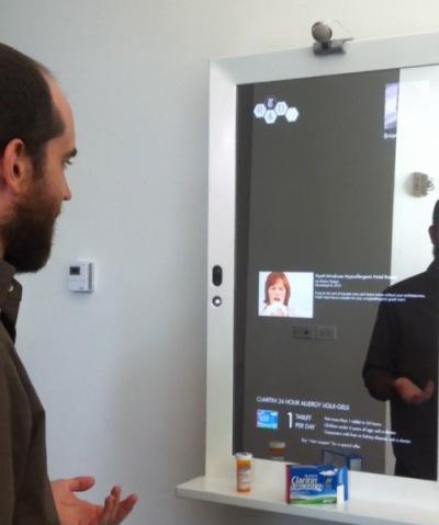 Un Miroir Interactif Au New York Times D Couvrir