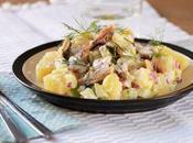 Salade nordique sardines deux pommes