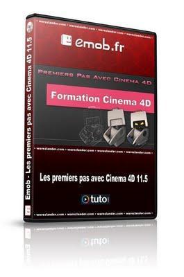 Emob - Tuto Cinema 4D: les premiers pas