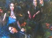 Premiere Party Interview vampire Diaries nouveau poster