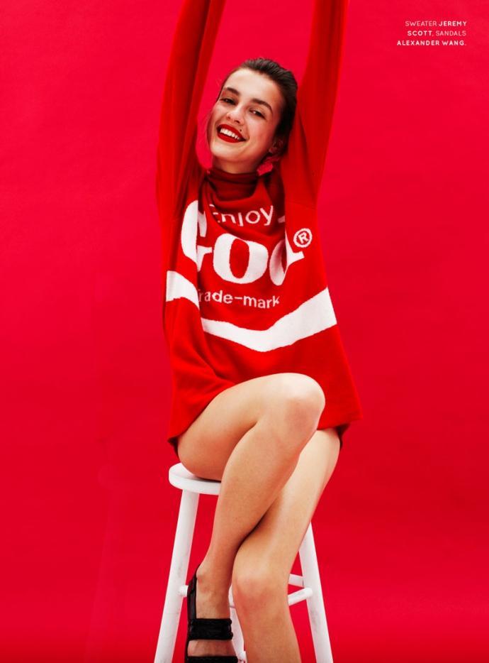 Olga Boiko par Charlotte Wales pour New Wave Women 4