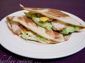 Quesadillas poulet, avocat, mangue emmental Comment suis mise jogging
