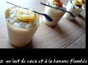 lait coco banane flambée