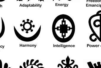 Symbole adinkra et aya d couvrir - Symbole de la vie ...