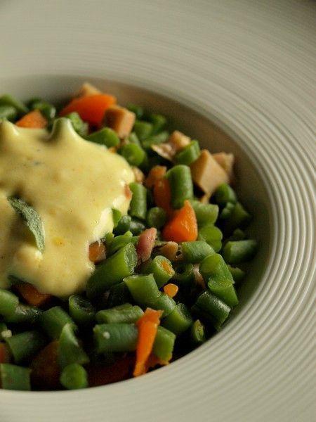Salade tiède d'haricots verts, poulet et carotte Salade-tiede-dharicots-verts-poulet-carotte-s-L-2m8Vbl
