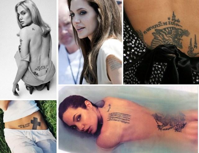 La folie des tatouages chez les stars voir - Tatouage pistolet femme ...