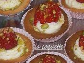 Petites tartelettes fraises mascarpone.