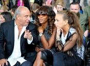 Fashion Week Londres: Naomi Campbell défilé TopShop