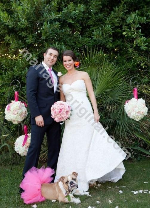 Boules de fleurs : le detail qui tue pour un mariage
