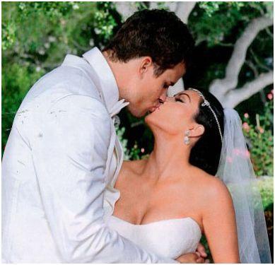 Inspiration mariage kim kardashian wedding paperblog - Comment faire le maquillage de kim kardashian ...