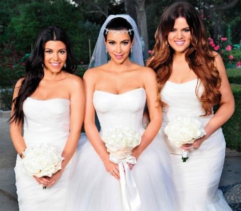 Inspiration Mariage… Kim Kardashian Wedding!