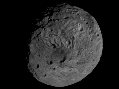 Pole sud de Vesta