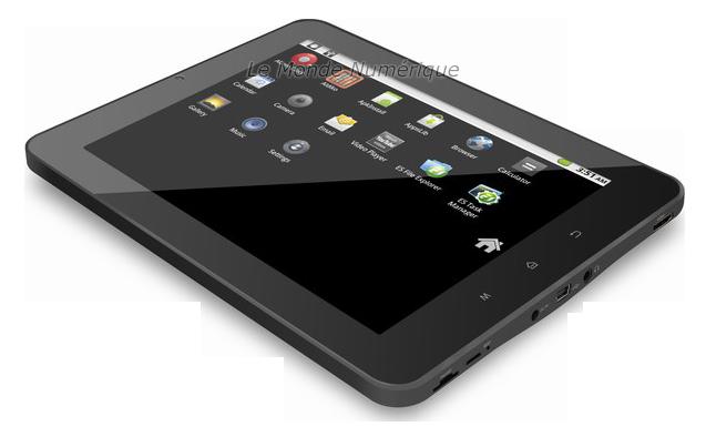 test de la tablette tactile android 8 pouces wi fi mpman. Black Bedroom Furniture Sets. Home Design Ideas