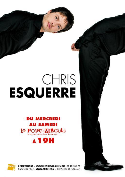 - [Spectacle] Chris Esquerre - Point Virgule rentree point virgule L PSd2P5
