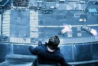 Ba man on a ledge sam worthington est pr t pour faire for Pret pour le grand saut