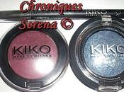 maquillage violet bleu avec Kiko