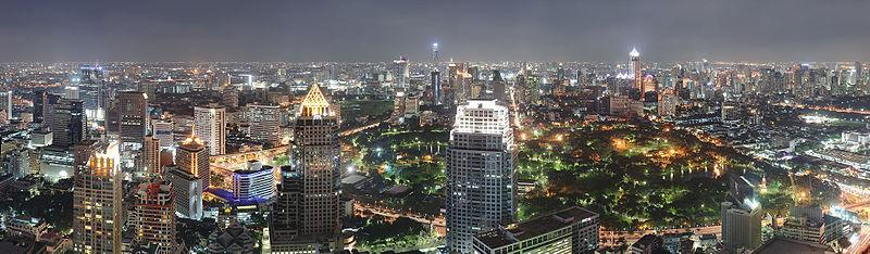 Bangkok skyline Thailand