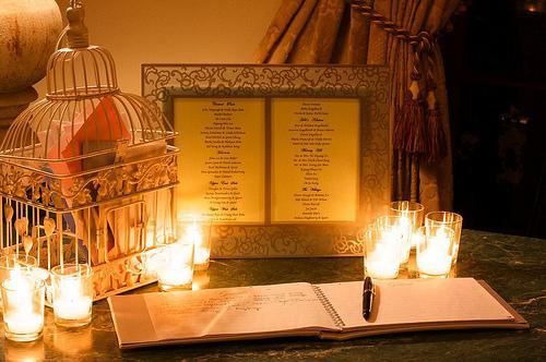 Decorations De Mariage Avec Des Bougies D Couvrir
