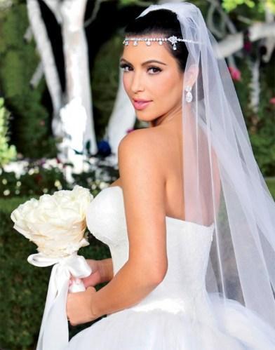 Kim kardashian et les secrets de son maquillage de mari e paperblog - Maquillage nude mariage ...