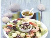 Salade maritime Ratte Touquet tartare d'algues
