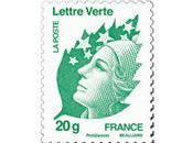 Timbre Vert courrier eco-responsable