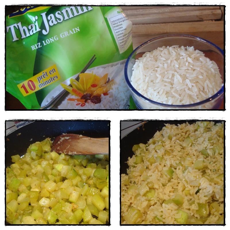 Gratin de poisson courgettes et riz parfum au curry paperblog - Absorber l humidite avec du riz ...