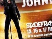 Johnny Hallyday invite pote pour 1ère partie Stade France