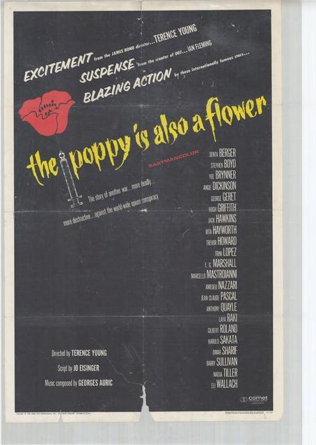 Opération Opium - The Poppies Are Also Flowers, Terence Young (1966)