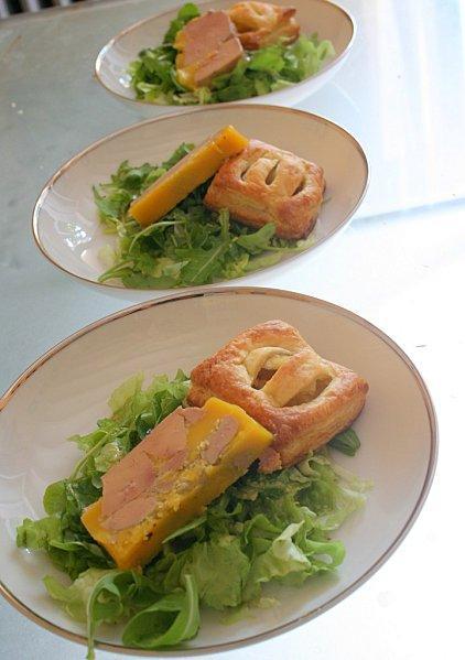 Chausson au chutney de pomme pour foie gras automnal lire for Chutney de pommes pour foie gras